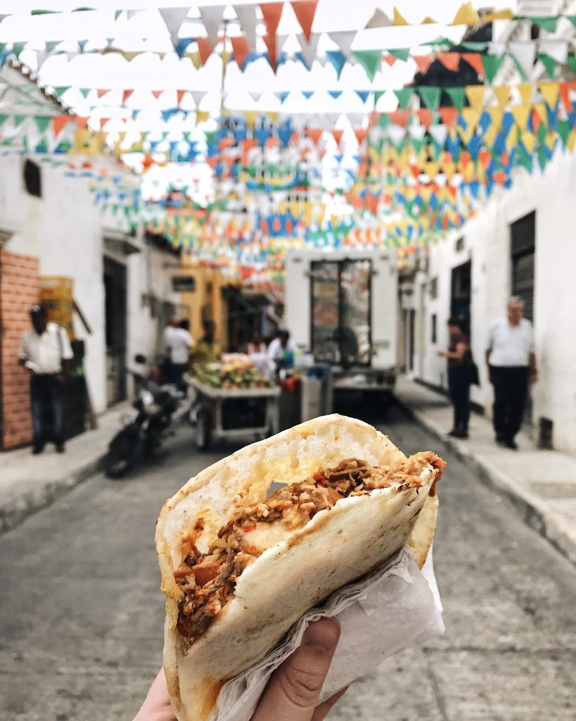 Cartagena Arepas | Through Kelsey's Lens