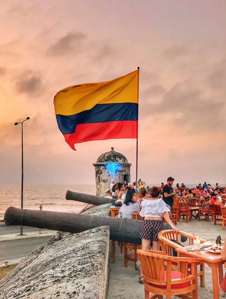 Cartagena Cafe Del Mar | Through Kelsey's Lens