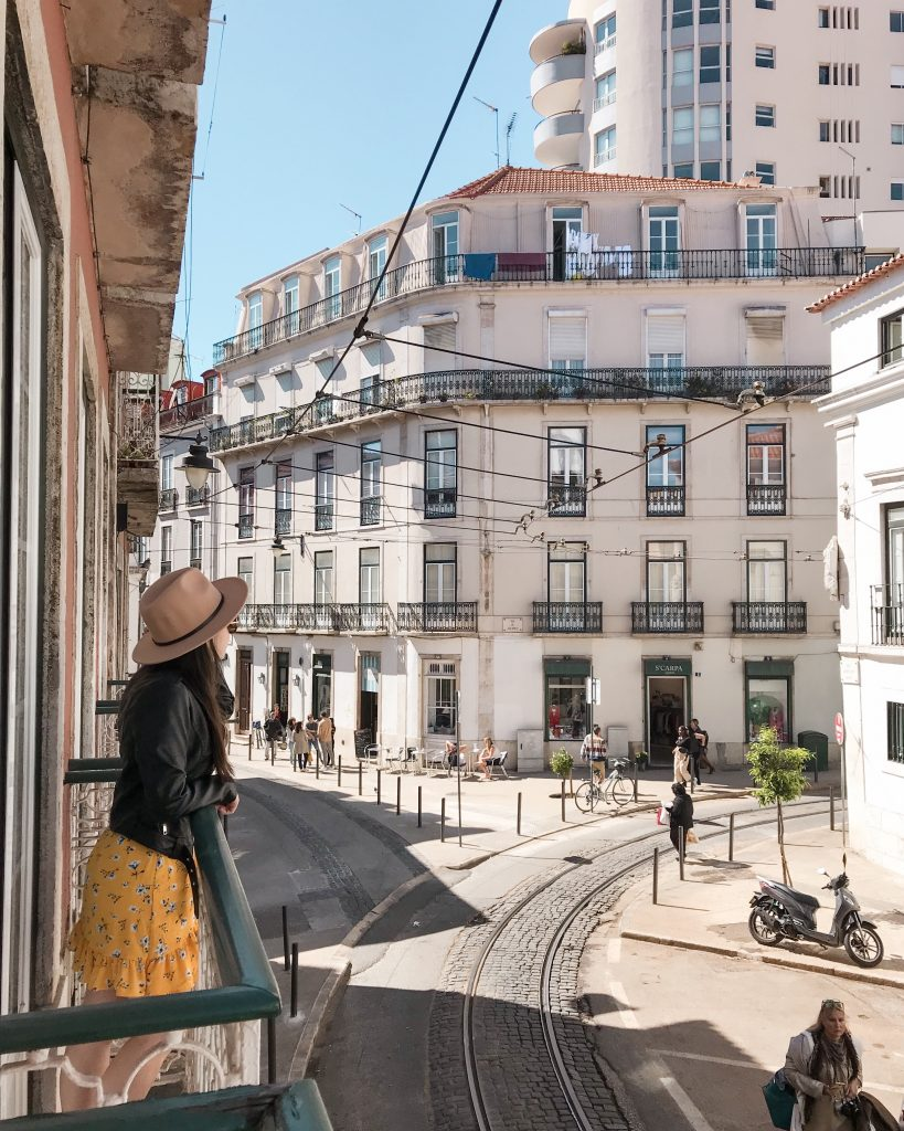 AirBnB Balcony, Lisbon, Portugal | Through Kelsey's Lens