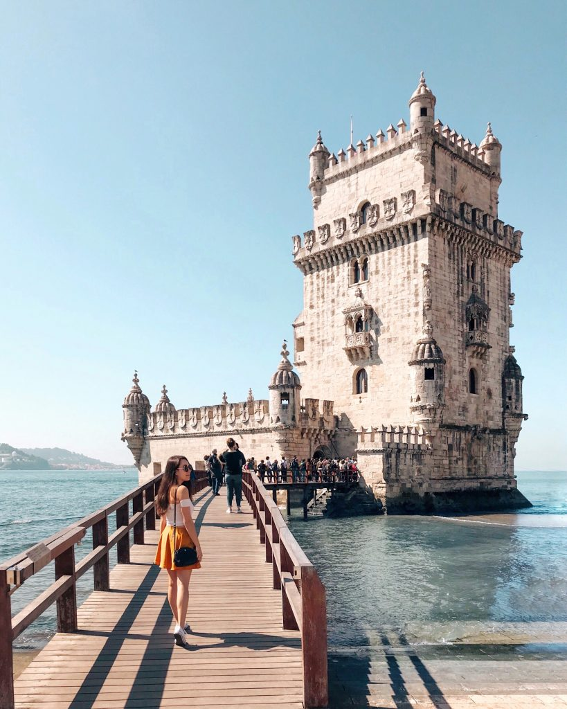Torre de Belem, Lisbon, Portugal | Through Kelsey's Lens