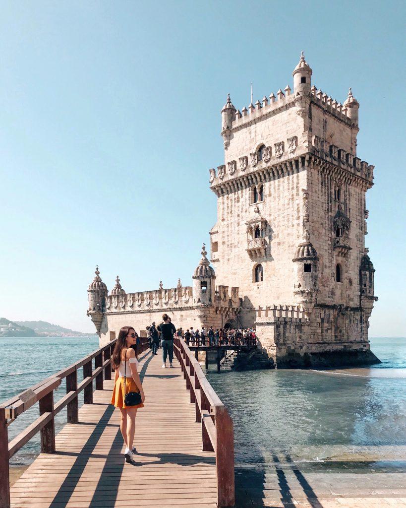 Torre de Belem, Lisbon, Portugal | Through Kelsey's Lens