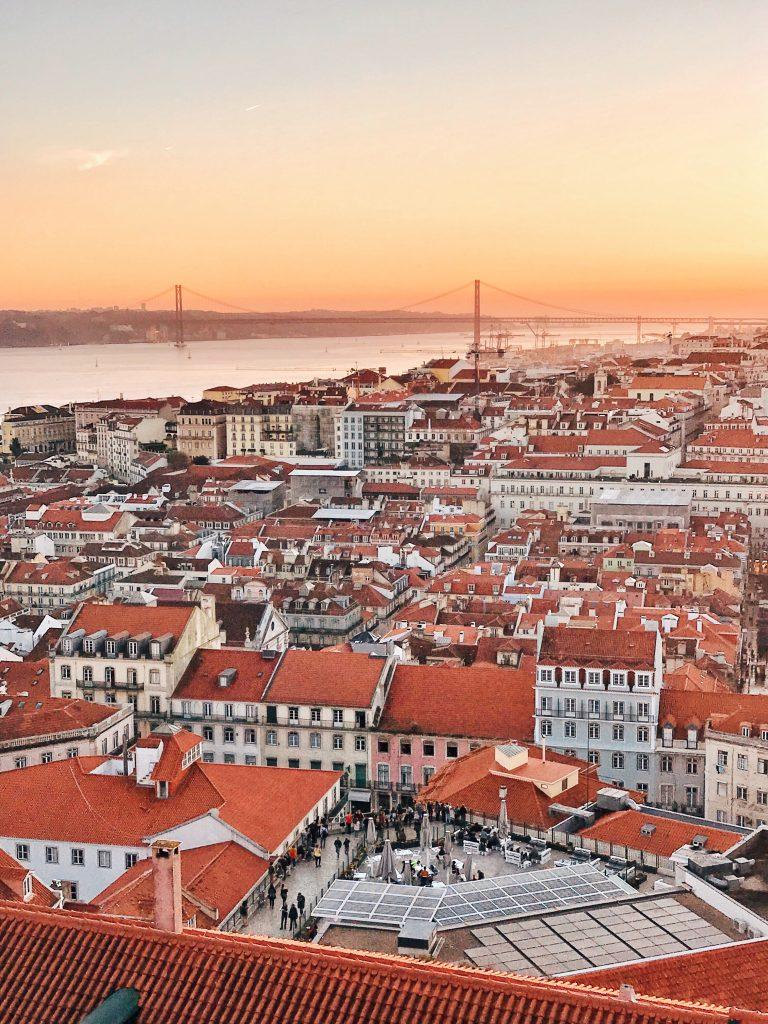 Castelo de Sao Jorge, Lisbon, Portugal | Through Kelsey's Lens