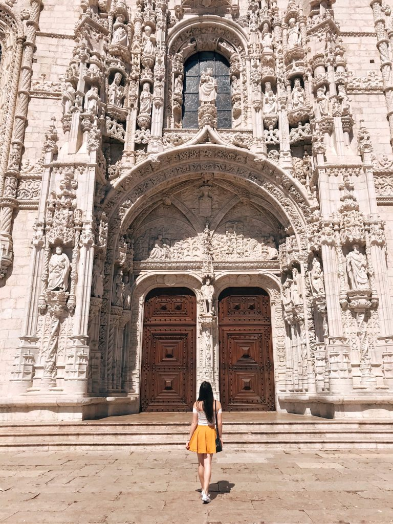 Jeronimos Monastery, Lisbon, Portugal | Through Kelsey's Lens
