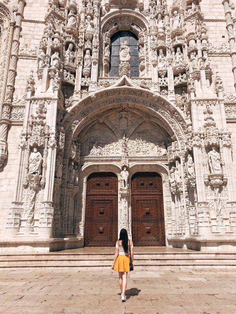 Jeronimos Monastery, Lisbon, Portugal | Through Kelsey's Lens