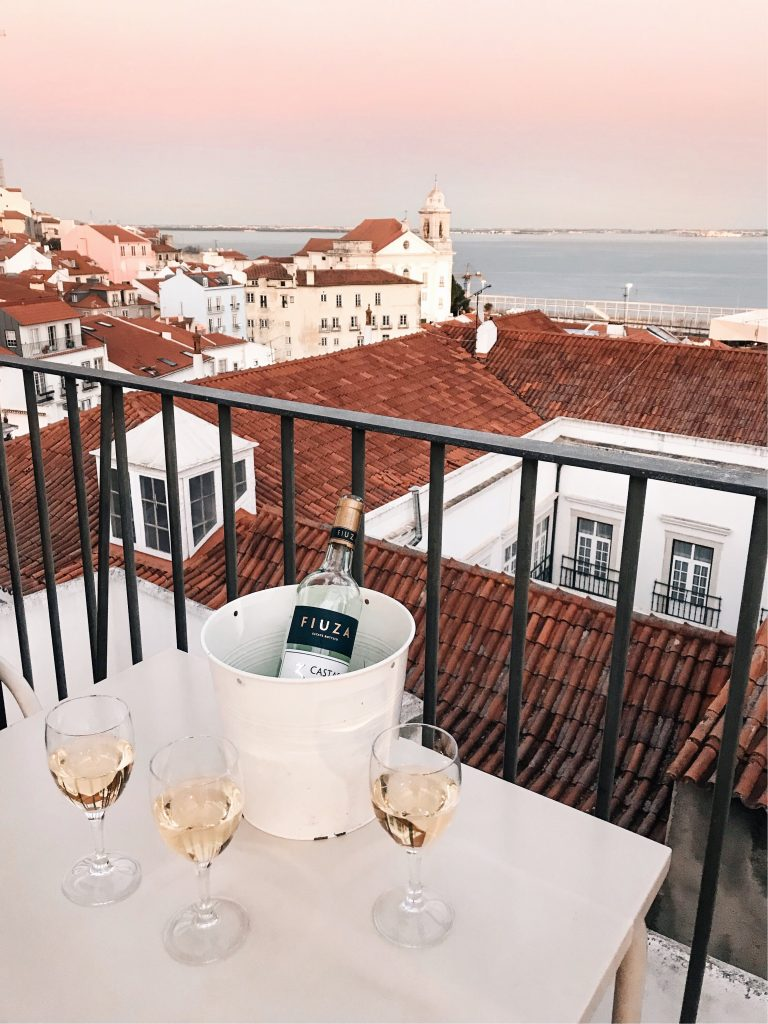 Portas do Sol, Lisbon, Portugal | Through Kelsey's Lens