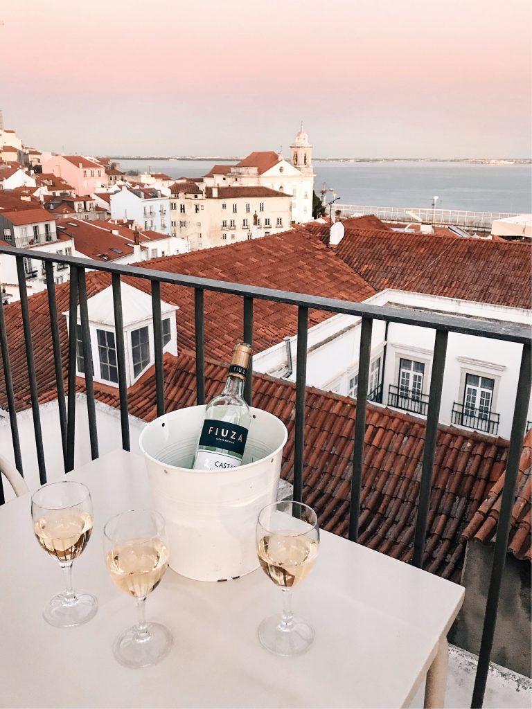 Portas do Sol, Lisbon, Portugal | Through Kelsey's Lens
