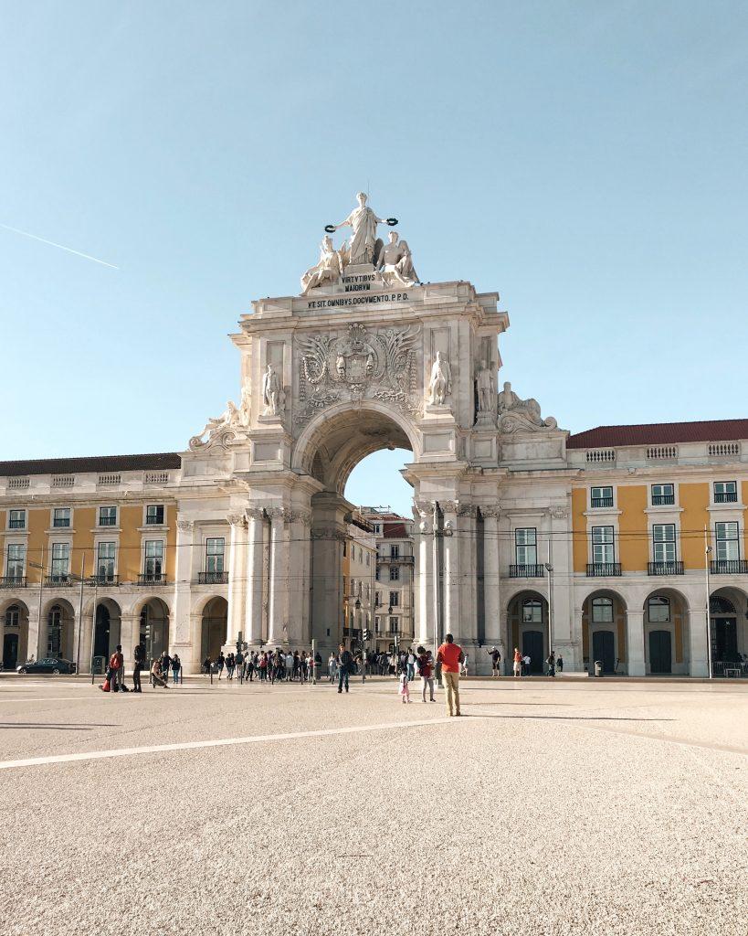 Praca do Commercio, Lisbon, Portugal | Through Kelsey's Lens