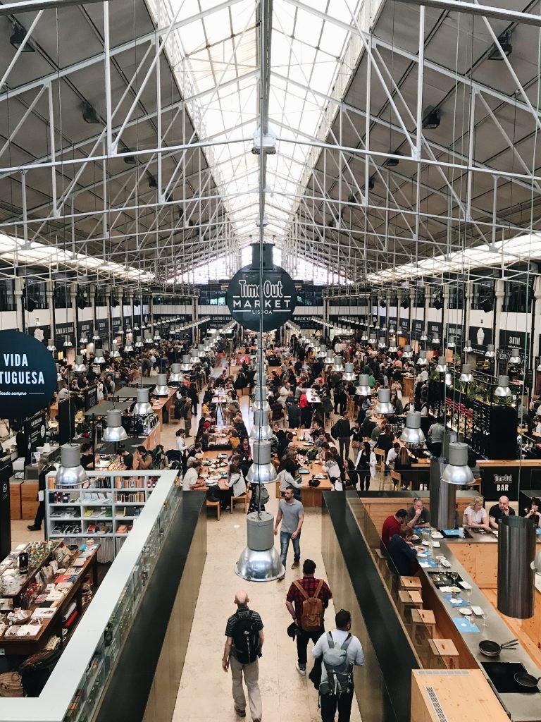 Time Out Market, Lisbon, Portugal | Through Kelsey's Lens