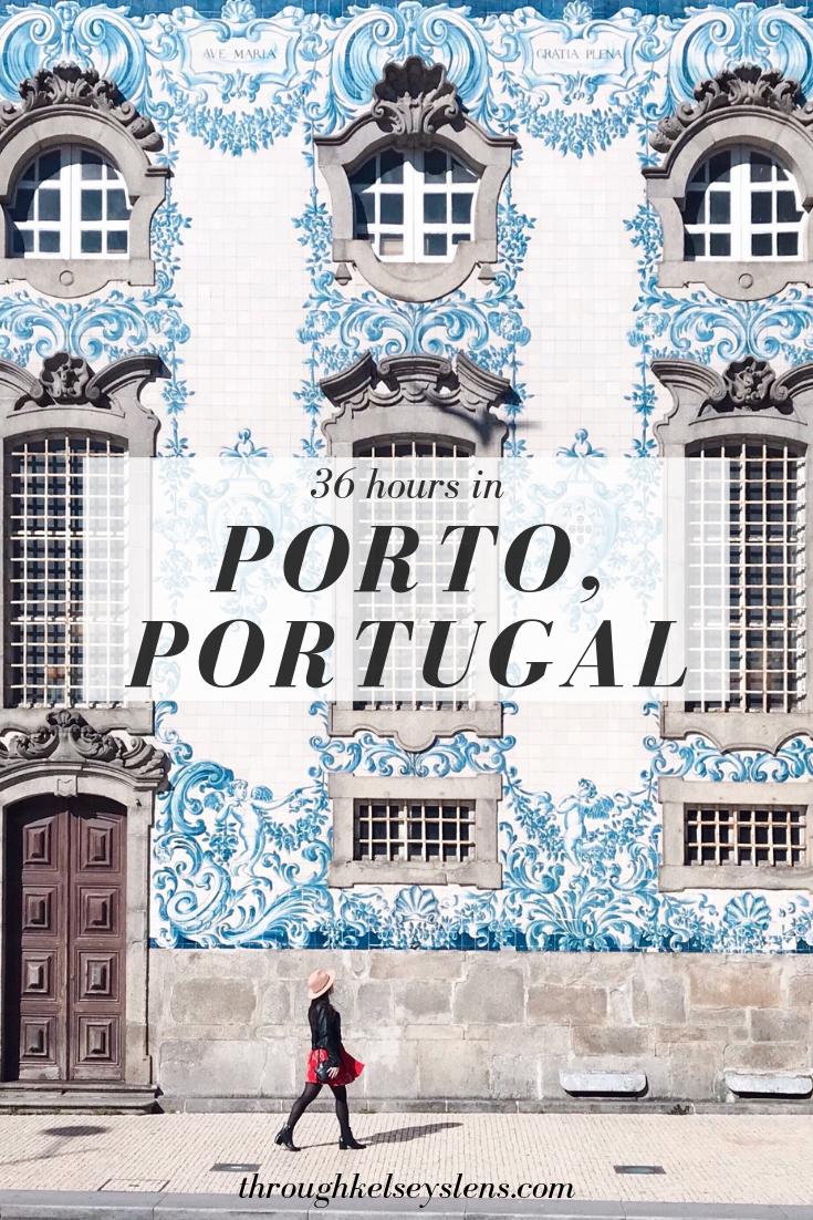 36 Hours in Porto, Portugal | Through Kelsey's Lens