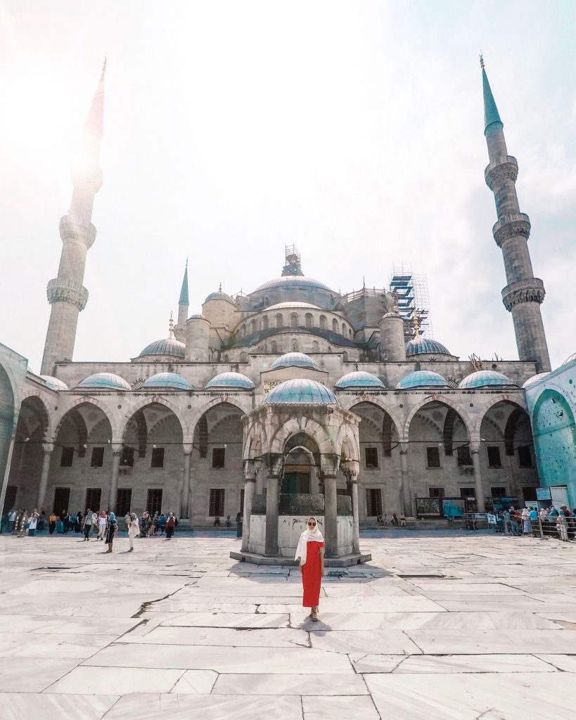 Blue Mosque, Istanbul | Through Kelsey's Lens