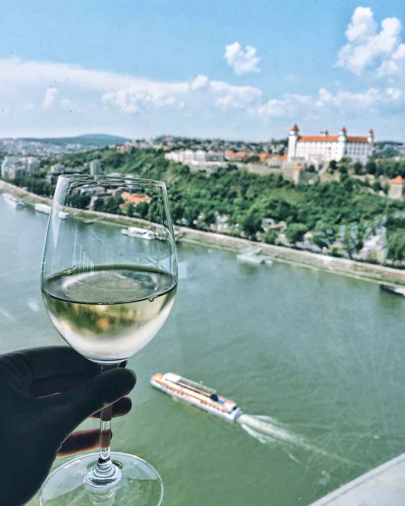 Bratislava, Slovakia UFO view