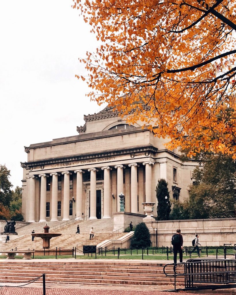 Columbia University in the Fall