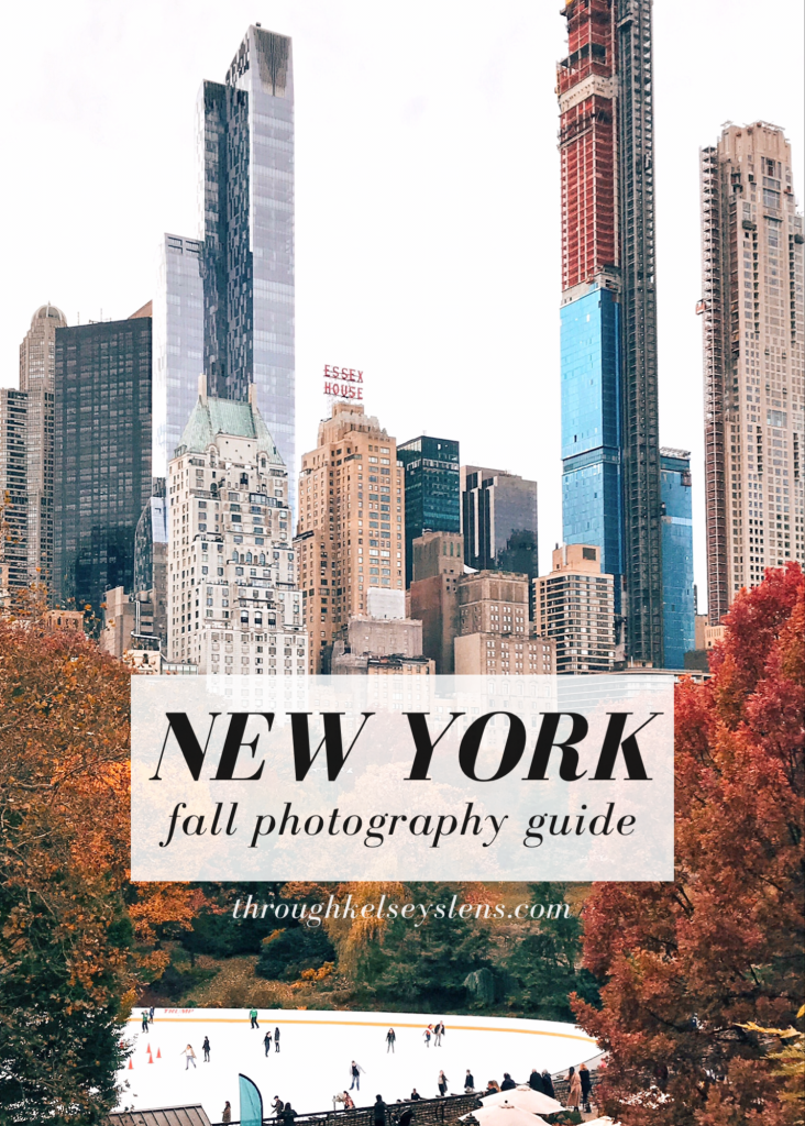 NYC Fall Photo Guide - Through Kelsey's Lens