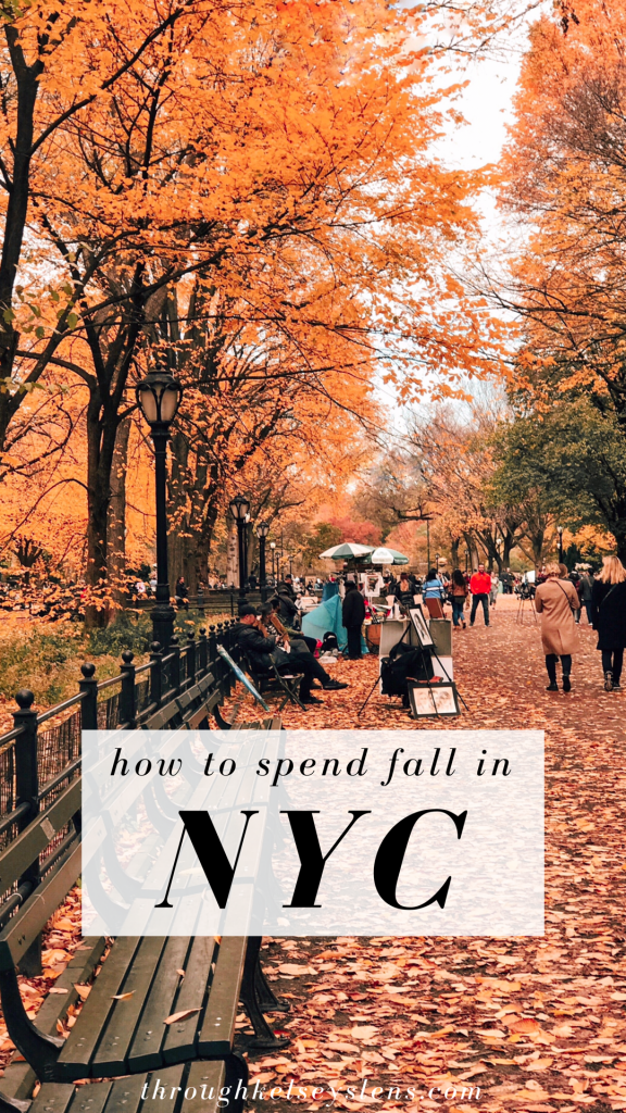 NYC Fall Guide - Through Kelsey's Lens