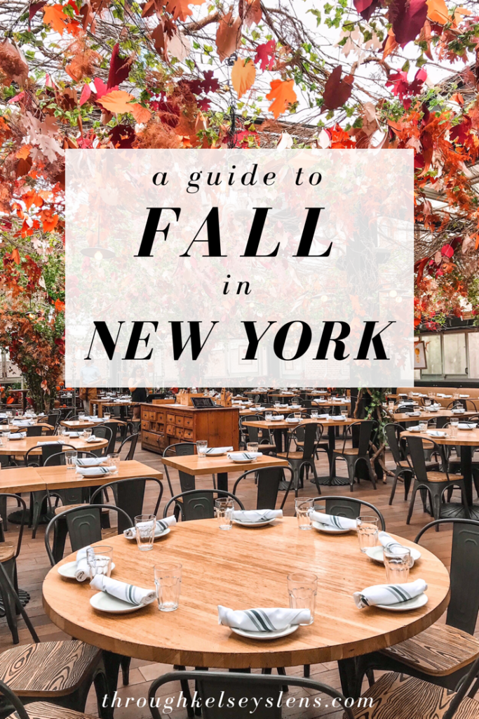 A Guide to Fall in New York