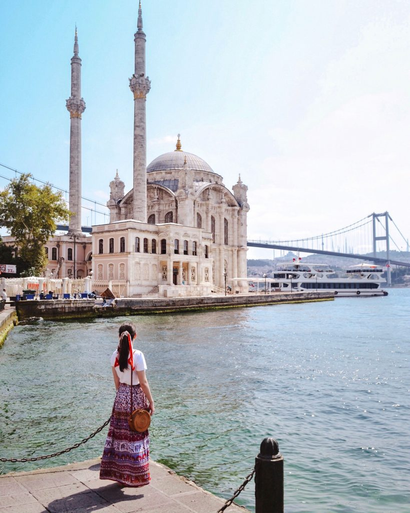 Ortakoy Mosque, Istanbul | Through Kelsey's Lens