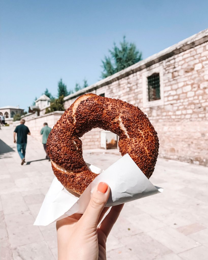 Simit in Istanbul | Through Kelsey's Lens