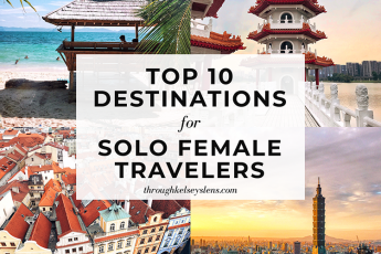 Top 10 Travel Destinations for Solo Female Travelers