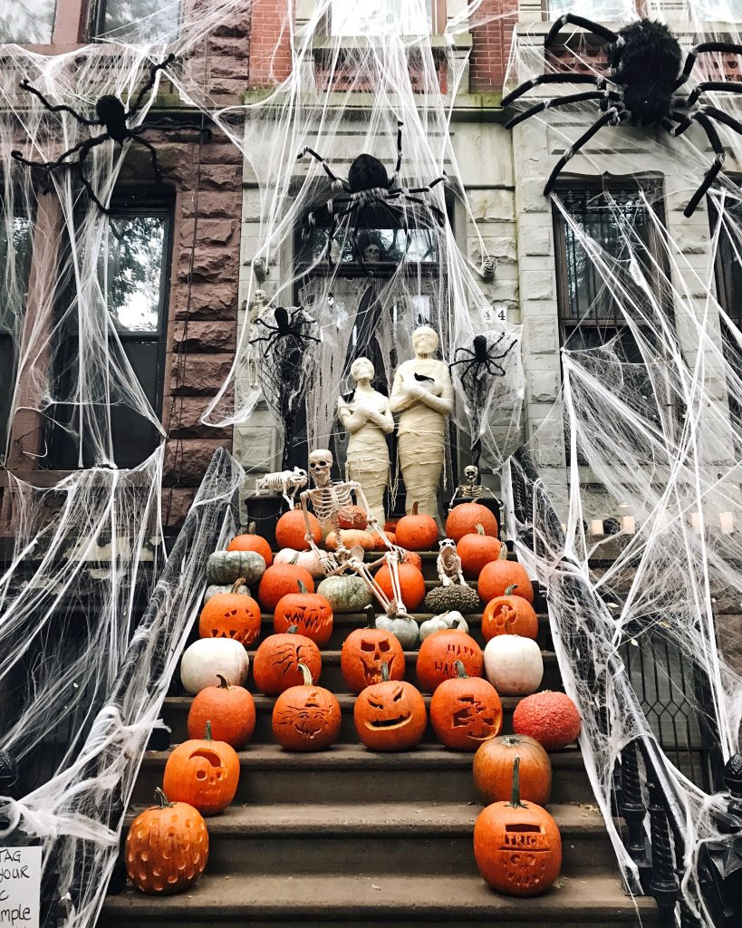 Upper West Side Halloween Decorations