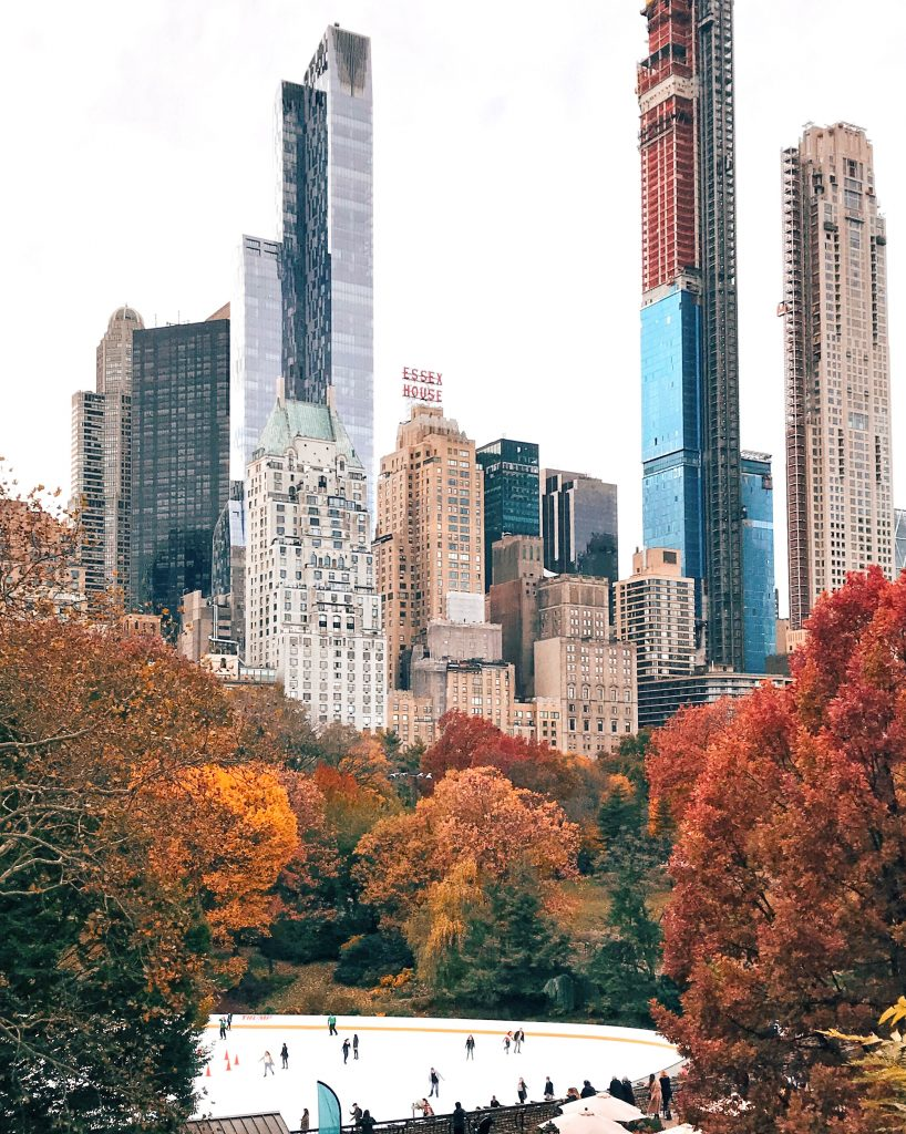 Central Park, New York City in the Fall
