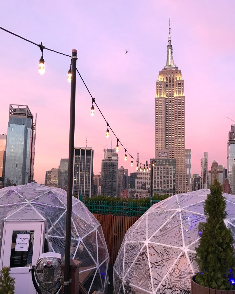230 Fifth Rooftop Igloos