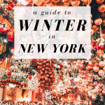 A Guide to Winter in New York
