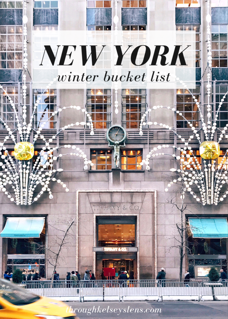 New York Winter Bucket List