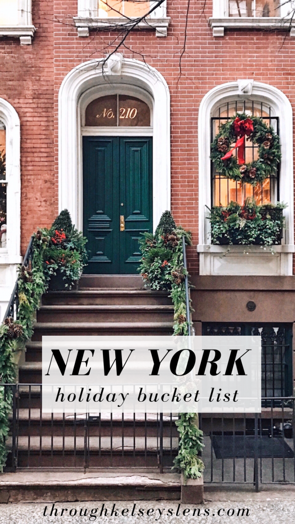 New York Holiday Bucket List