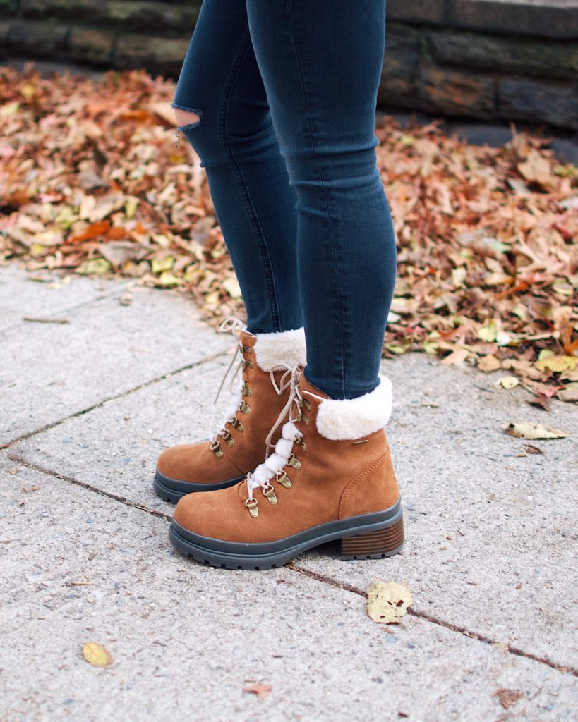 NYC Winter Outfit Muck Boots