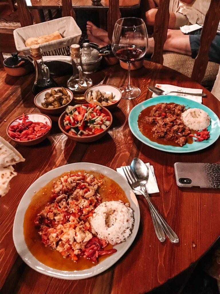 Dibek Cappadocia Food