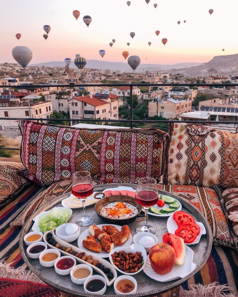 Ottoman Cave Suites Breakfast