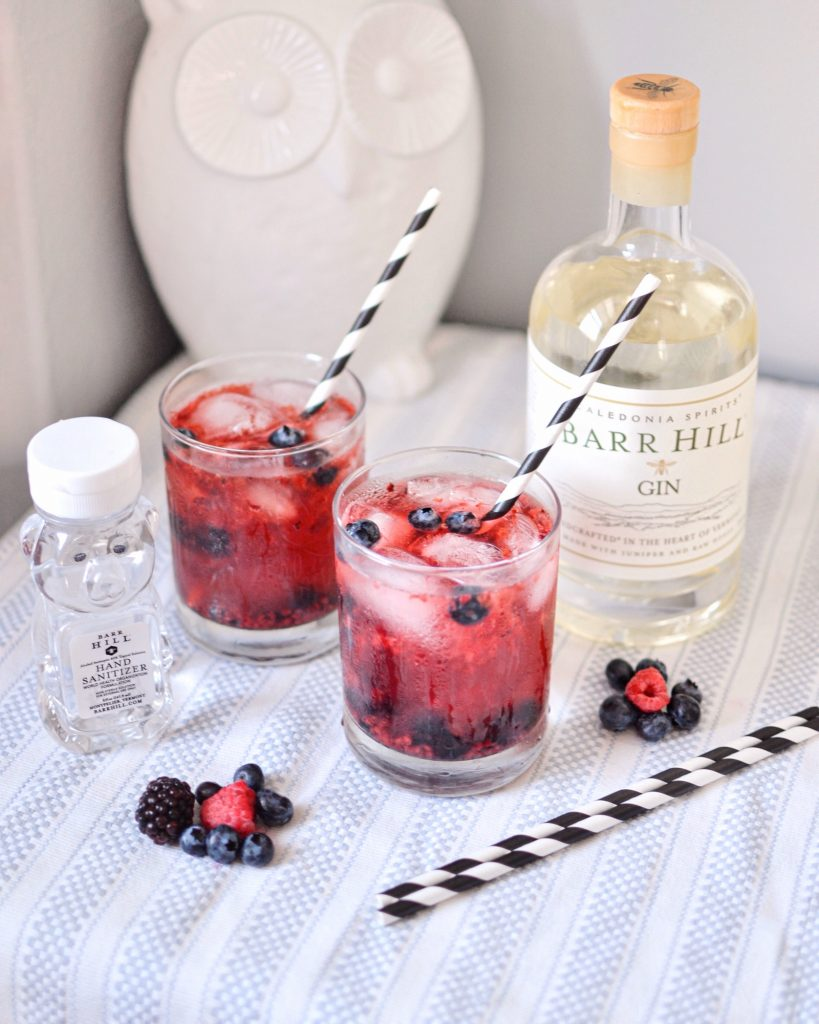 Summery Berry Gin Cocktail