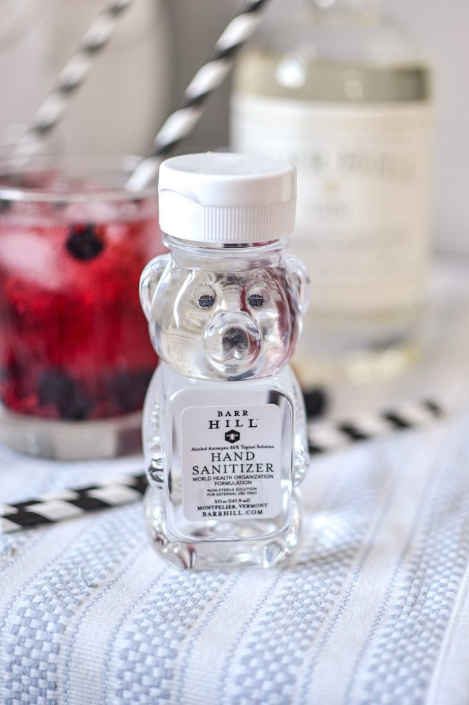 Barr Hill Gin Hand Sanitizer